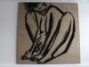 Další plátno ve Stígamotu - moc se nám tam líbilo, i když naše feminismy se v lecčems lišily.
