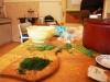 Kopr do italského těstovinového salátu.